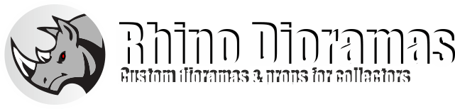 Rhino Dioramas